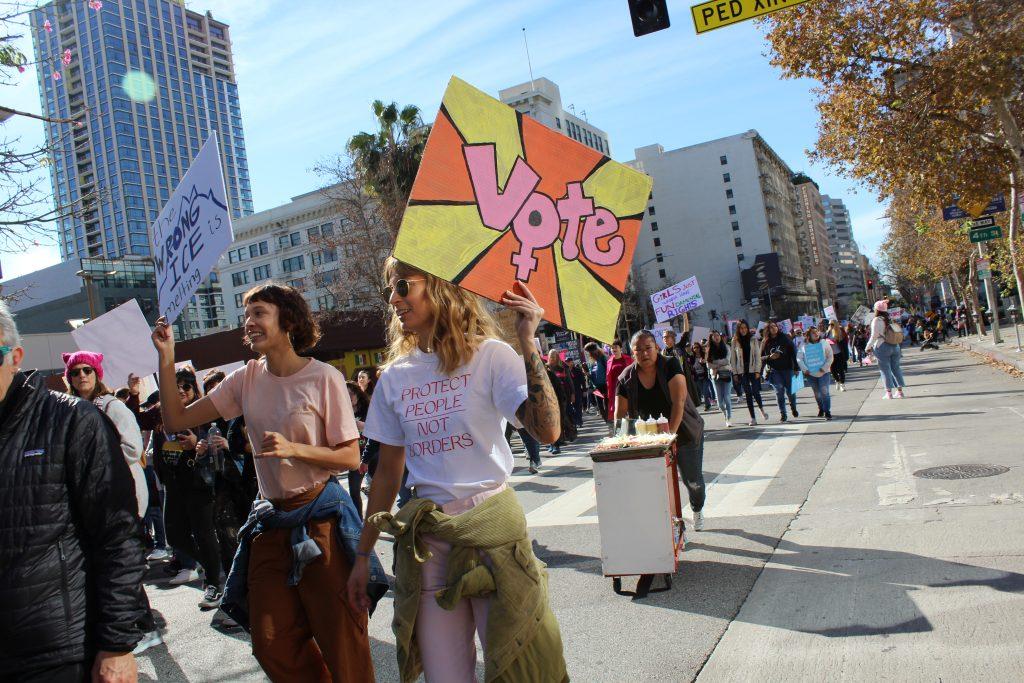 2020 Women's March LA