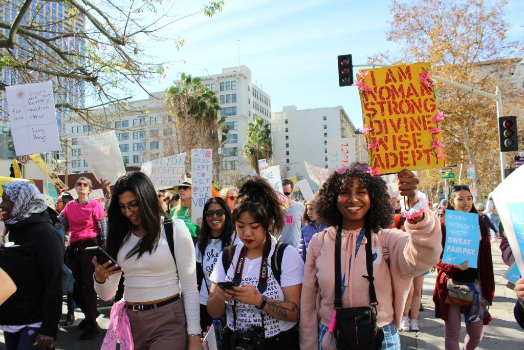 Women's March LA 2020